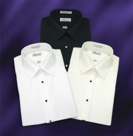 Laydown Microfiber Dress Shirts