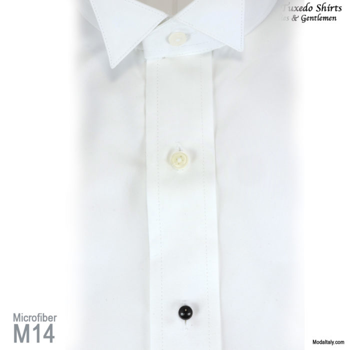 Wing Collar Microfiber Dress Shirts 4 Colors