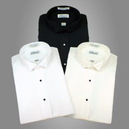 Wing collar Dress Shirts