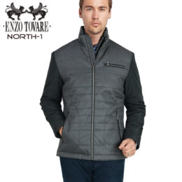 Enzo North Jacket Heather Grey