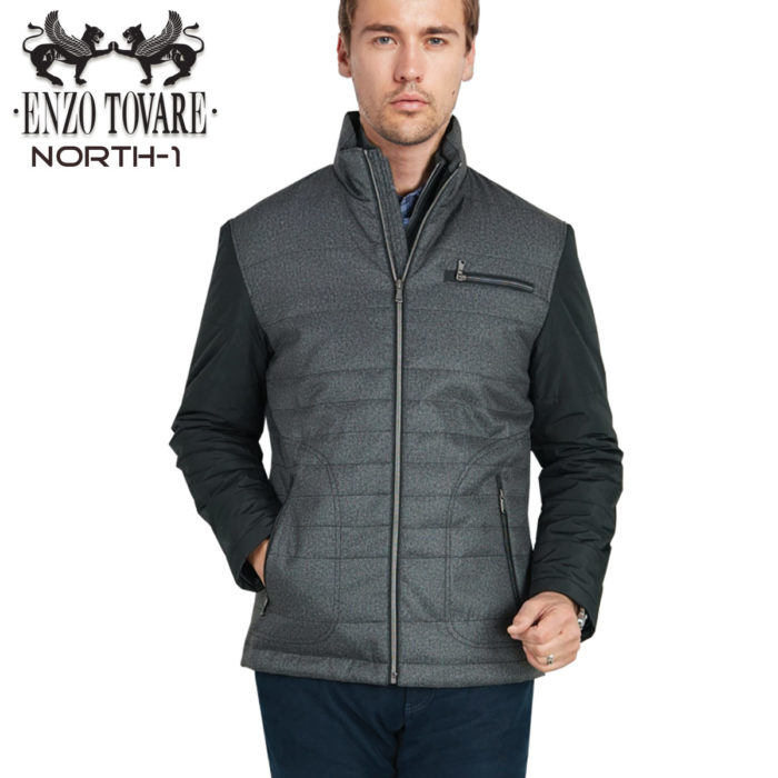 Enzo North Jacket Heather Grey