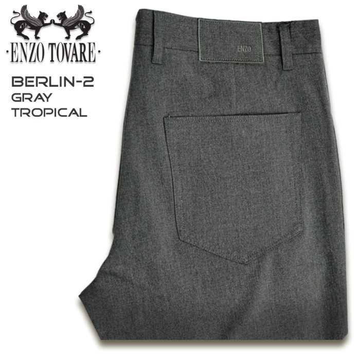 Enzo Berlin Denim Gray