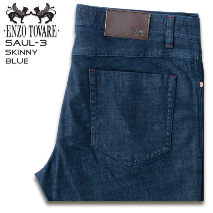 Enzo Denim Jeans Blue