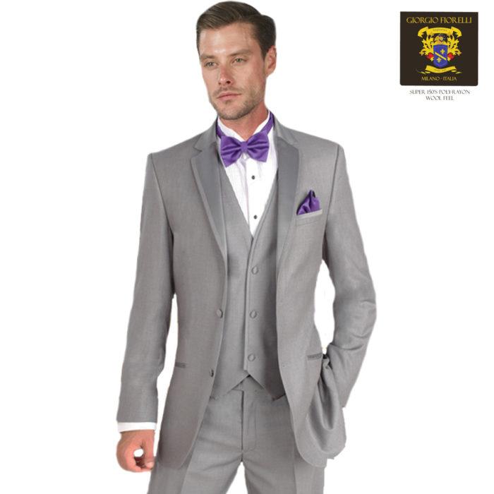 Gray Tuxedo Walton by Giorgio Fiorelli
