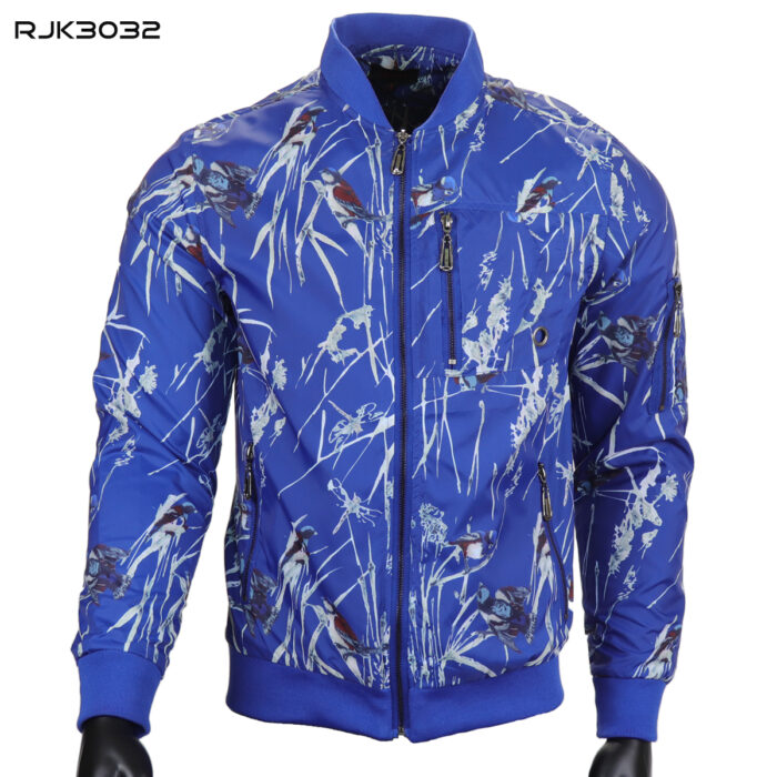 Blue Wind Breaker Spring Jacket By SMASH