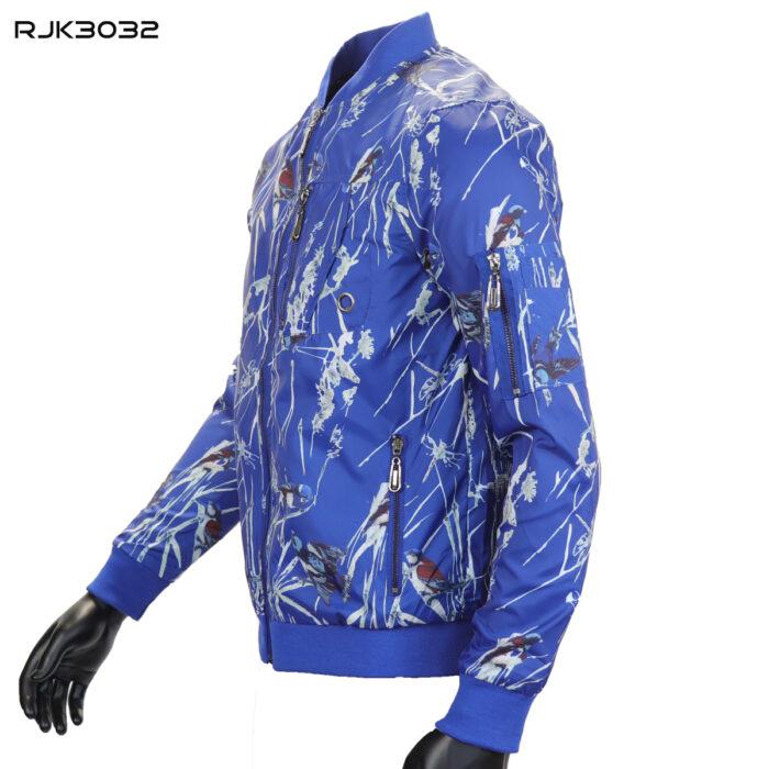 Blue Wind Breaker Spring Jacket By SMASH