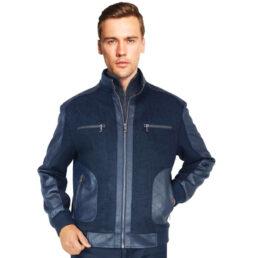 Bentley Blue Jacket by Enzo
