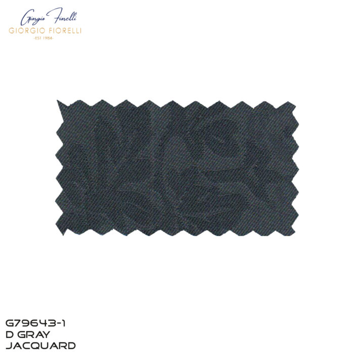 Arlan Jacquard Tuxedo by Giorgio Fiorelli in Gray Fabric