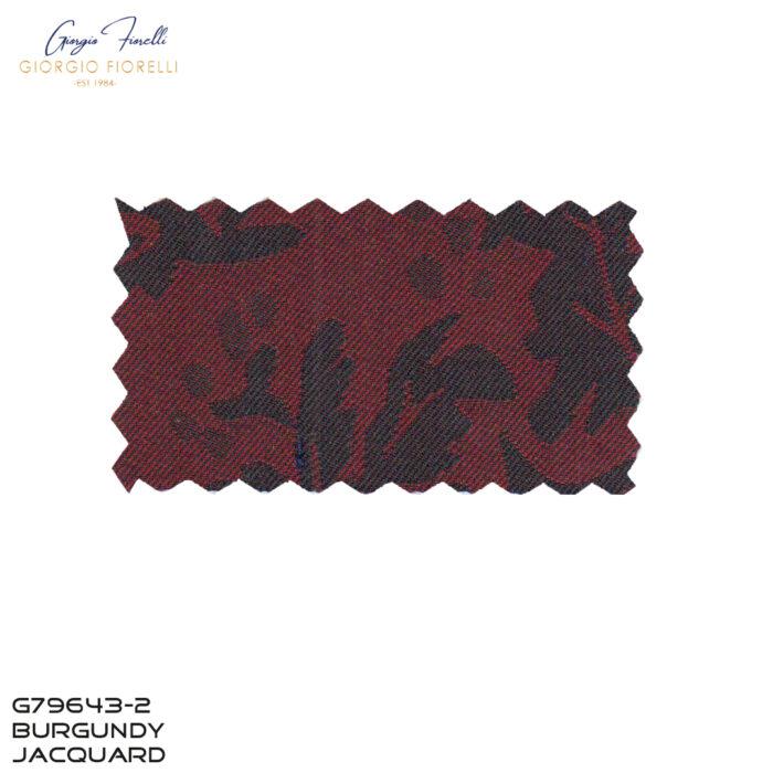 Arlan Jacquard Tuxedo by Giorgio Fiorelli in Burgundy Fabric