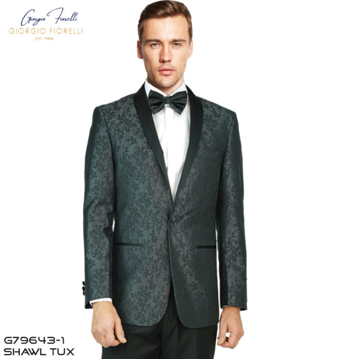 Giorgio Fiorelli Shawl Jacquard Tuxedo