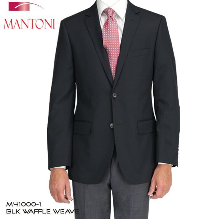 Mantoni Black Wool Blazer