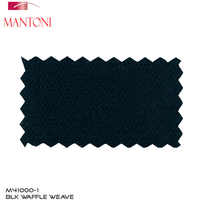 Mantoni BlackWool Blazer Fabric