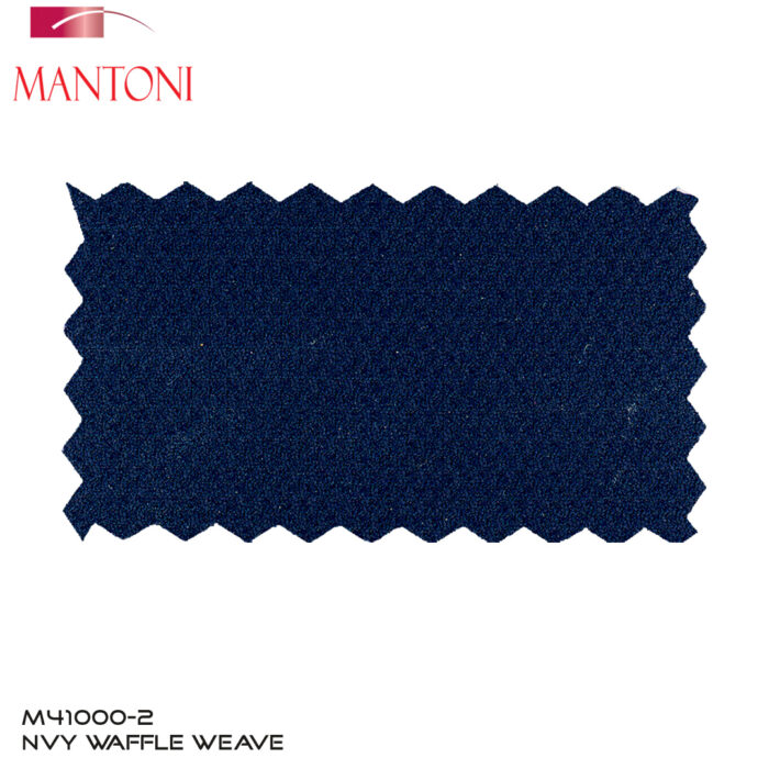 Mantoni Navy Wool Blazer Fabric