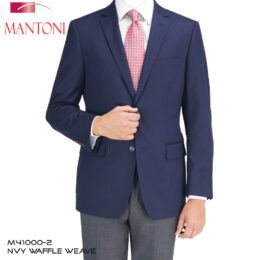 Mantoni Navy Wool Blazer