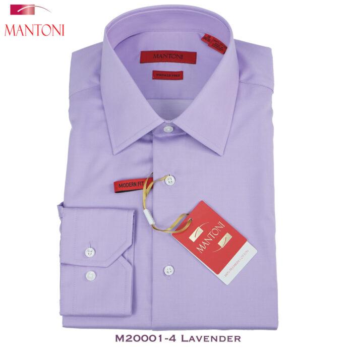 Mantoni Lavender Dress Shirt