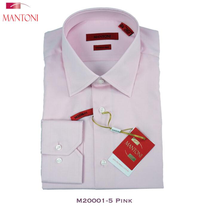 Mantoni Pink Dress Shirt