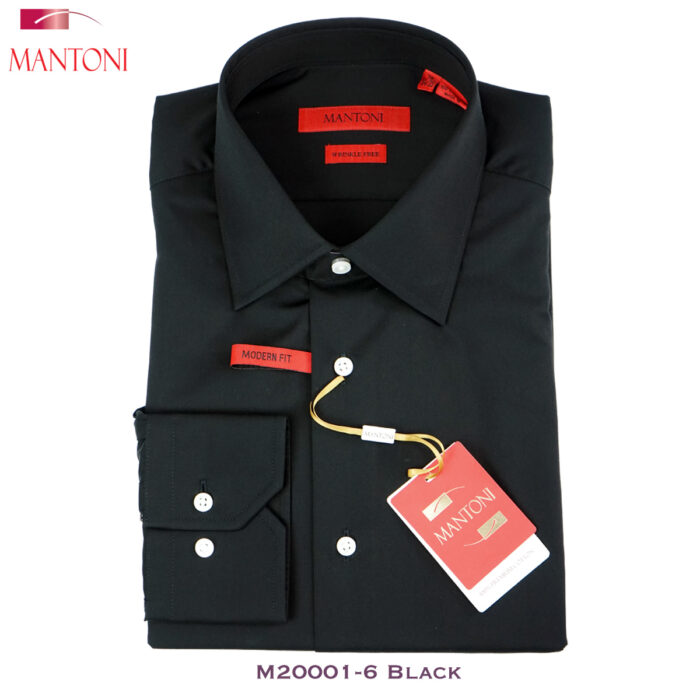 Mantoni Black Dress Shirt
