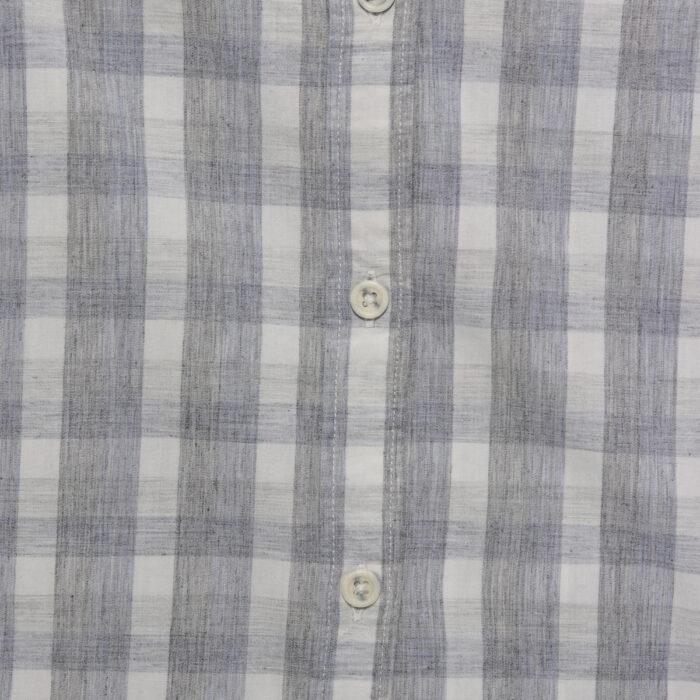 MICROS Toto Grey Short Sleeve Shirt Fabric