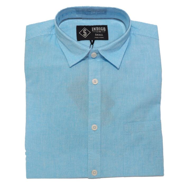 INDIGO STAR Karev Summer Shirts in Blue