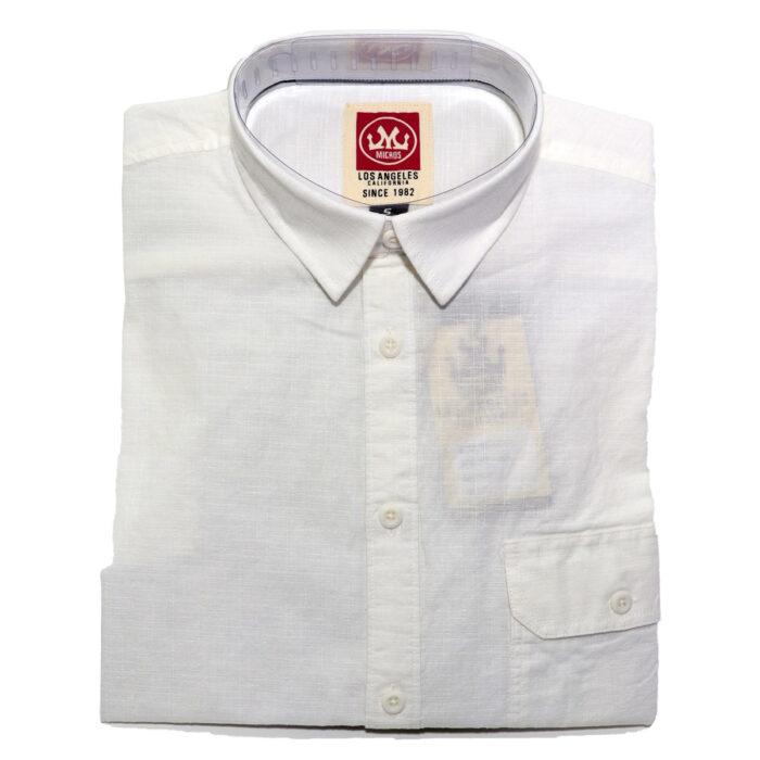 INDIGO STAR Karev Summer Shirts in White