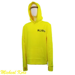 Michael Kors Neon Yellow Hoodie Sport Sweater