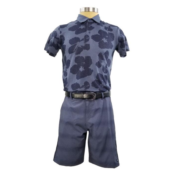 MICROS Flopolo Vintage Indigo Polo Shirt
