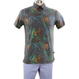 INDIGO Xanadu Black Polo Shirt