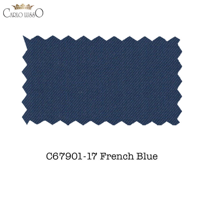 Carlo Lusso Fabric Sample French Blue