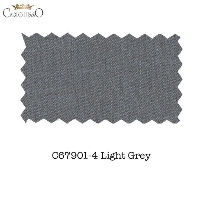 Carlo Lusso Fabric Sample L Grey