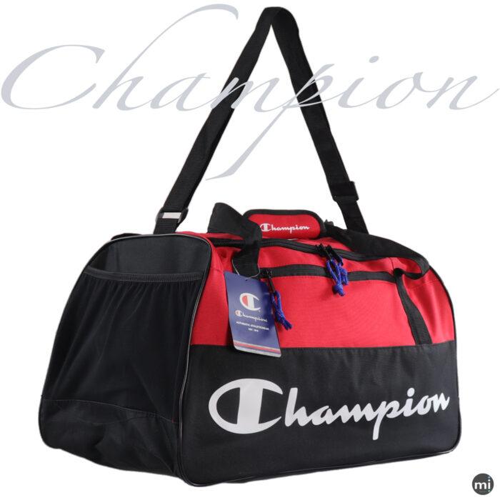 Champion Red/Black Duffle Bag