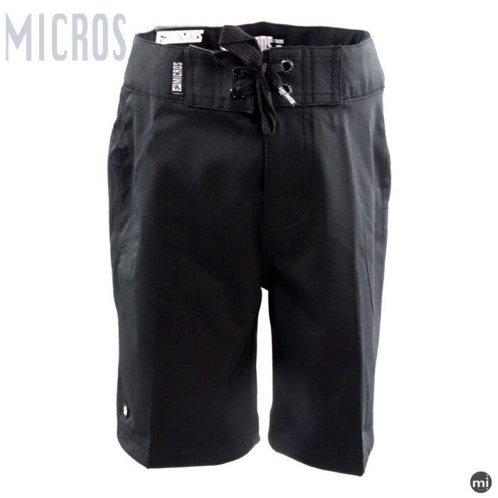 Black Boys Sports Shorts by MICROS