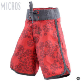 Red Boys Sports Shorts by MICROS