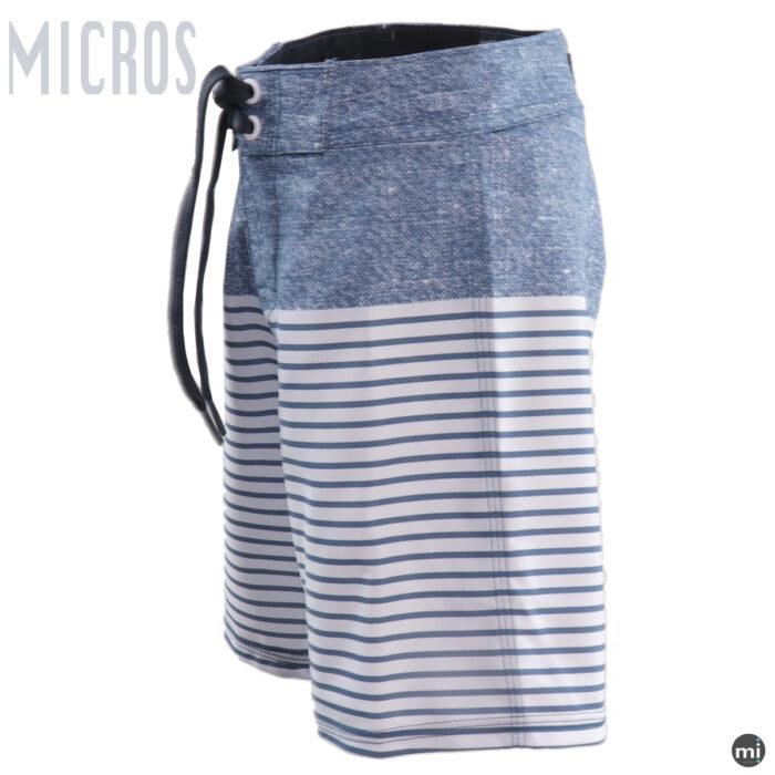 Boys Sports Shorts Blue stripe by MICROS